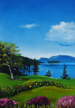 Shaw Island Spring by Marie-Claire Dole