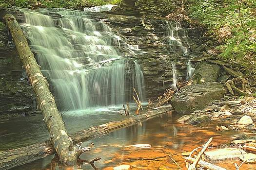 Adam Jewell - Shawnee Falls At Ricketts Glen