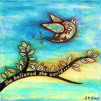 She Believed She Could by Lisa Frances Judd