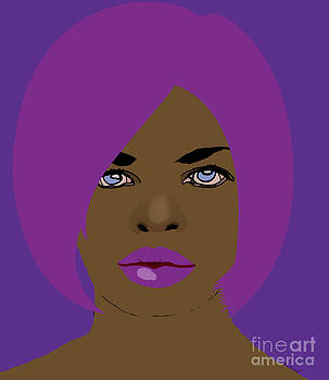 Kate Farrant - She likes purple and pink