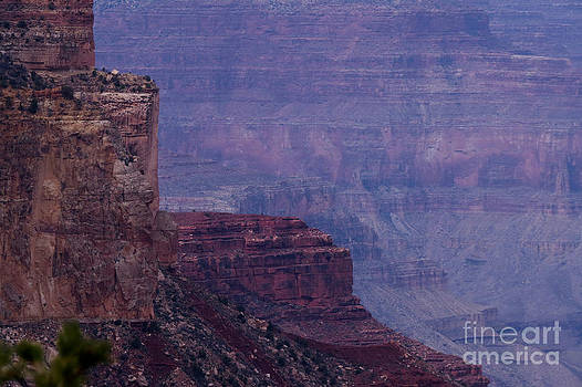 Sheer Cliff by Mary Mikawoz