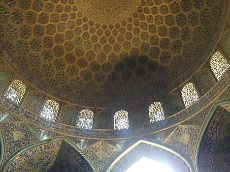 Sheikh Lotfollah Mosque In Esfahan by Arezoo Johari