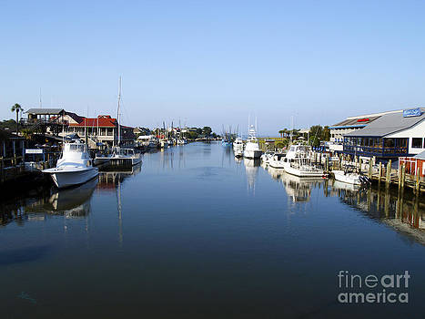 Ginette Fine Art LLC Ginette Callaway - Shem Creek Mount Pleasant Charleston South Carolina