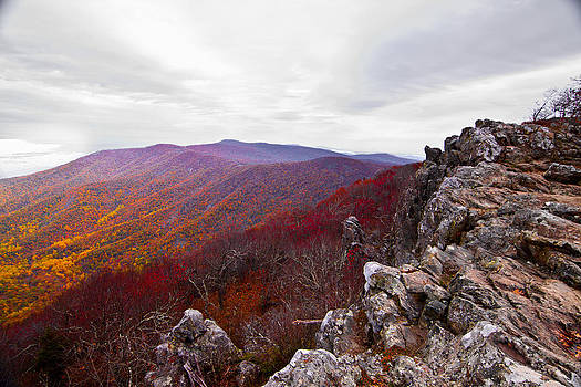 Shenandoah in the Fall by Leah Kimper