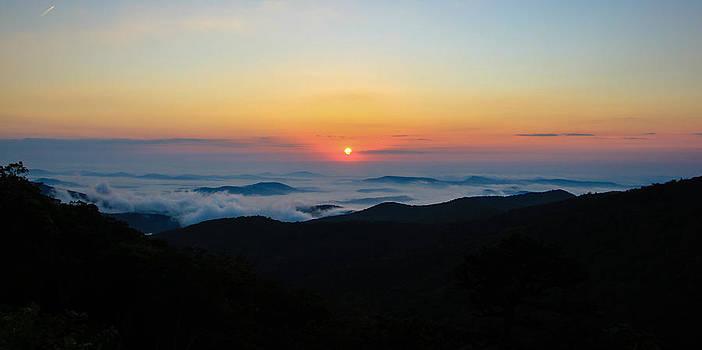 Shenandoah Valley Sunrise by Kaye Seaboch