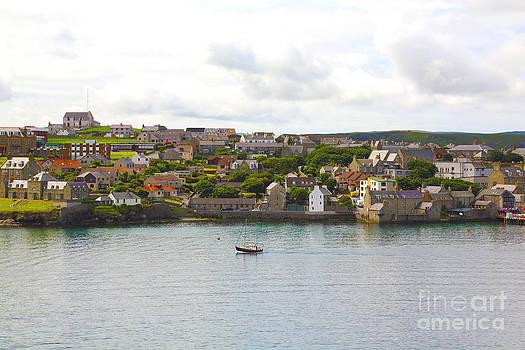 Shetland Islands approach by Dan Hilsenrath
