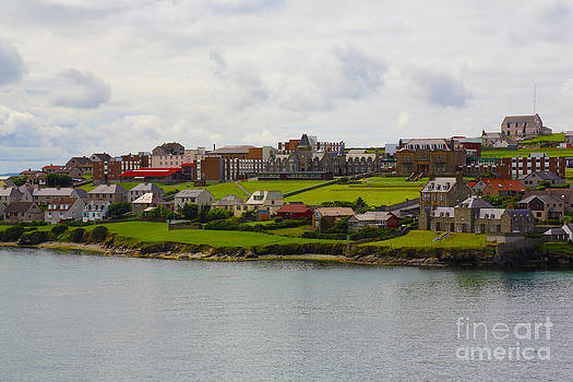 Shetland Islands Village by Dan Hilsenrath