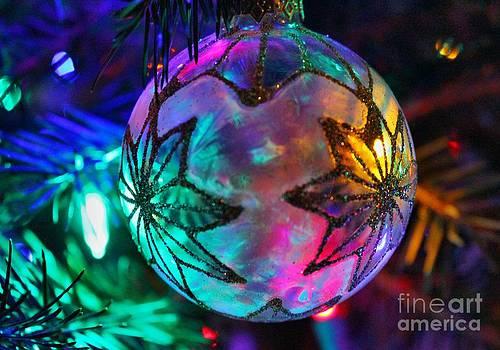 Shimmering Multifacted Glow by Judy Palkimas