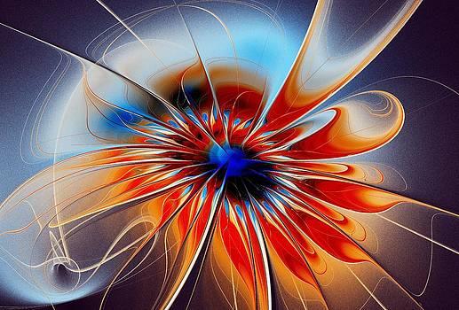 Anastasiya Malakhova - Shining Red Flower