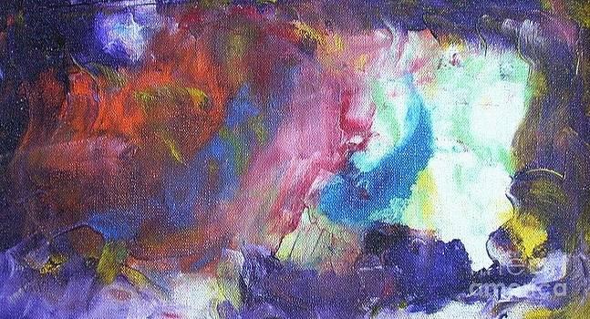 Ship And Storm Colors. by Dmitry Kazakov