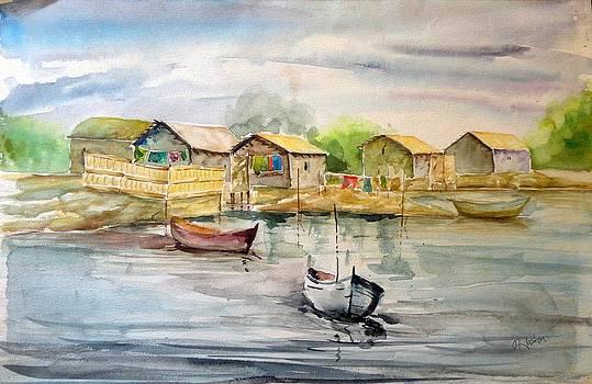 Ship Harbour by Hashim Khan