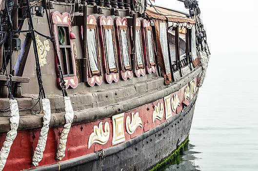 Ship in the water. by Slavica Koceva