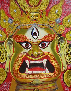 Shiva as Bhairav by Kumar Yaman