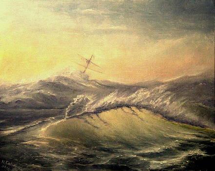 Shivering Beauty Of Storm by Mikhail Savchenko