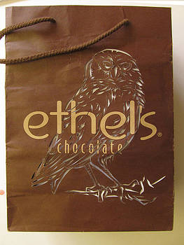 Alfred Ng - shopping bag made over- Ethels Chocolate