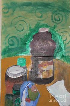 Prune Juice - Pop Art by Erin Masterson