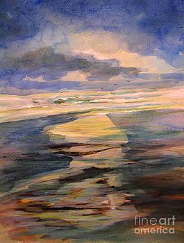 Shoreline sunrise 11-9-14 by Julianne Felton