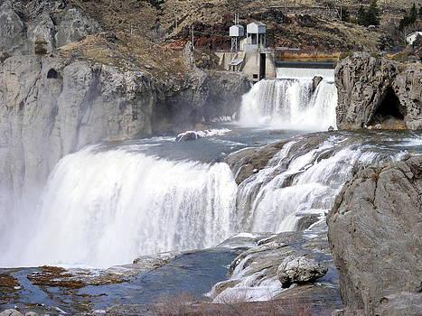 Shoshone Falls by Mickey Hatt