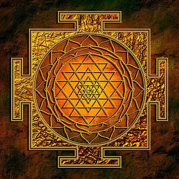 Shri Yantra Gold Lakshmi by Lila Shravani