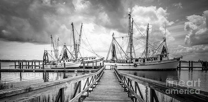 Shrimboat Dock in South Carolina by Vicki Kohler
