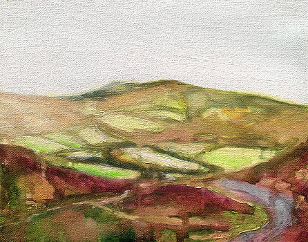 Shropshire Hills 3 by Paul Mitchell