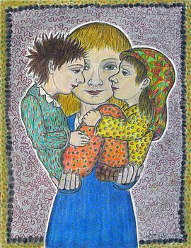Siblings by Bert Menco