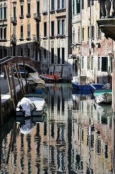 Side Canal Venice by Bill Mock