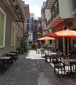 Sidewalk Cafe in NOLA by Dana Doyle