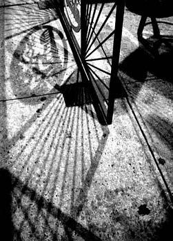 'Sidewalk Shadows' by Liza Dey