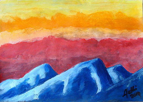 Silent Mountains by Fethi Canbaz