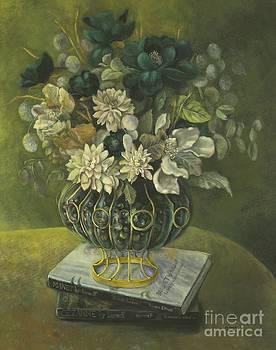 Silk Floral Arrangement by Marlene Book