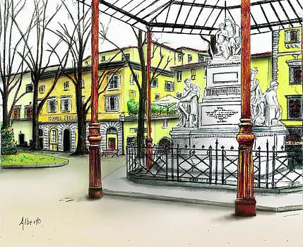 Silla Hotel Piazza Demidoff Florence by Albert Puskaric