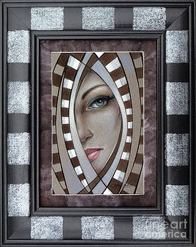 Silver Memories 220414 FRAMED by Selena Boron