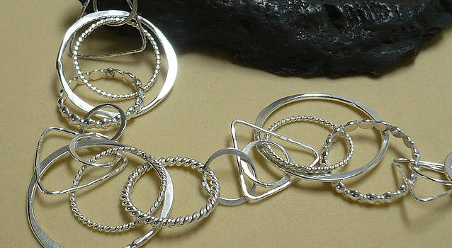 Silver Necklace by Arianna Bara