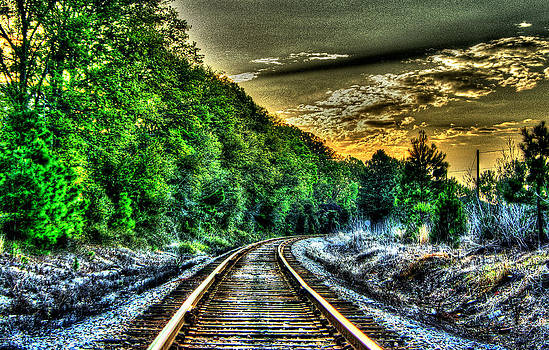 Silver Rails  by Mike Bass
