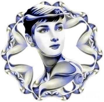 SilverScreenStar Audrey Hepburn by Wu Wei