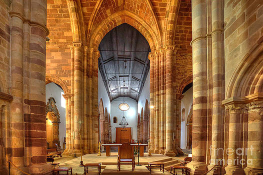 English Landscapes - Silves Cathedral Interior