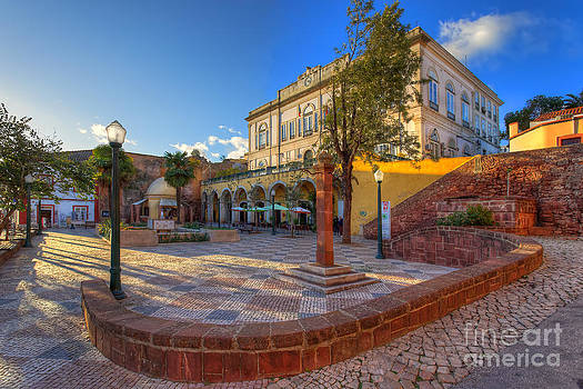 English Landscapes - Silves Town Square