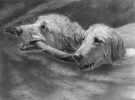 Simon and Koda by Alison Brush