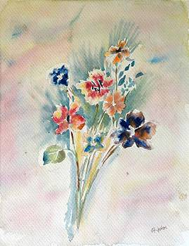 Simplicity of flowers  by Hashim Khan