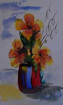 Simply Flowers by Shirley Watts