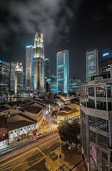 Singapore Nights by John Swartz
