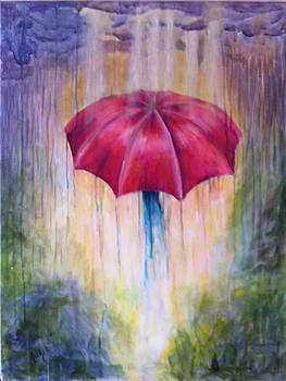 Singing in the rain by Kristina Granholm