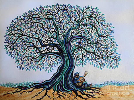 Nick Gustafson - Singing under the Blues Tree