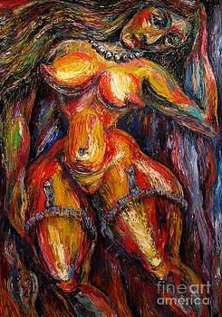 Single woman by Temo Dumbadze