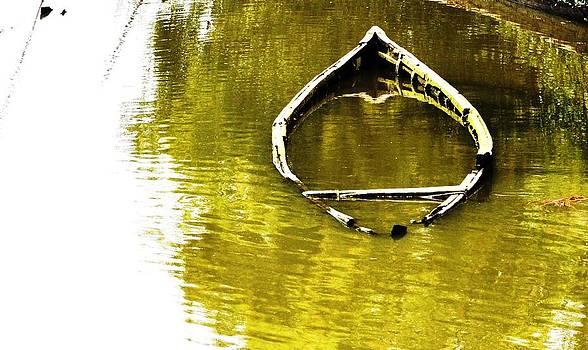 Sinking Boat  by B Thottoli
