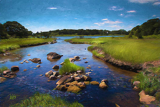 Sippewissett  Marsh by Michael Petrizzo