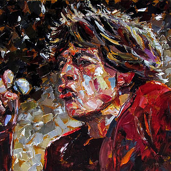 Sir Michael Philip Jagger  by Debra Hurd