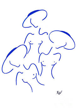 Sisters by Ingrid Barlebo-Larsen