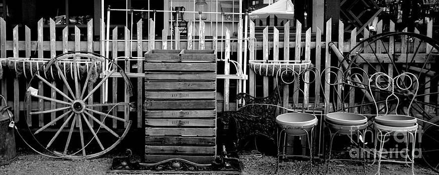 Sisters Oregon Antique Shop by Steve Patton